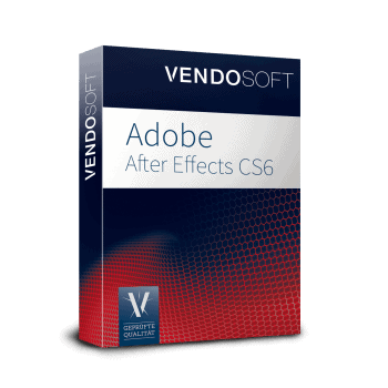 Adobe After Effects CS6 used