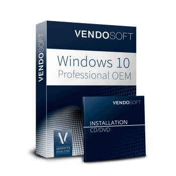 Microsoft Windows 10 Professional OEM used
