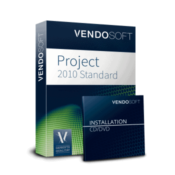 Microsoft Project 2010 Standard used