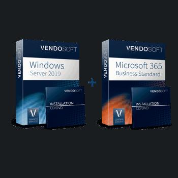 Hybride Cloud: Microsoft 365 Business Standard & Windows Server Datacenter (gebraucht)